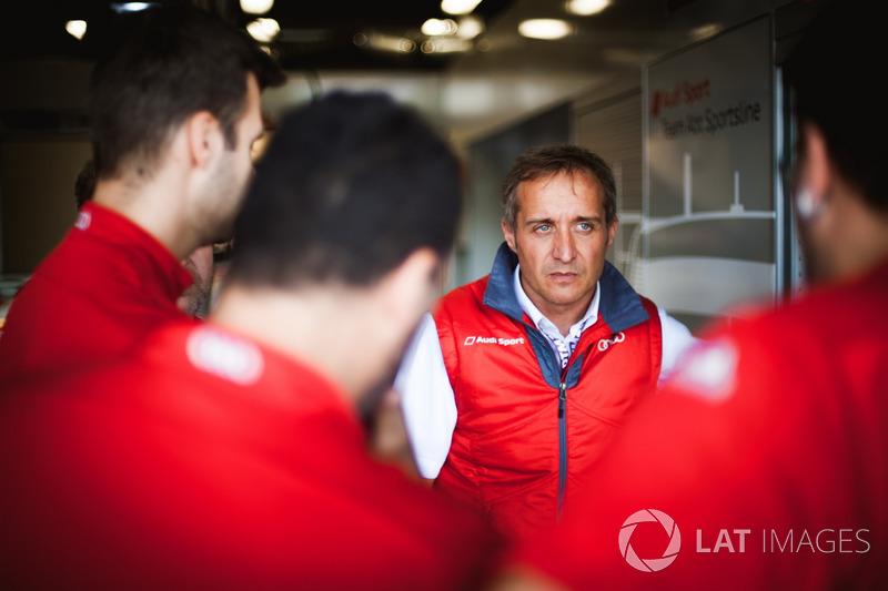 Члени команди Audi Sport Team Abt Sportsline