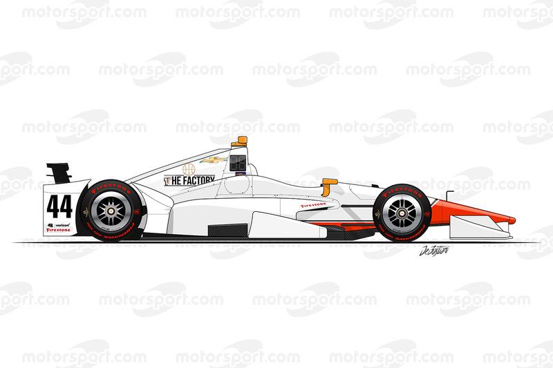Бадди Лазьер, Lazier Racing Chevrolet