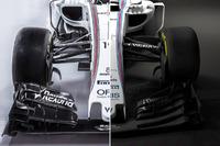 Vergelijking Williams FW38 en FW40