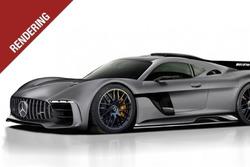 Рендеринг Mercedes-AMG Project One
