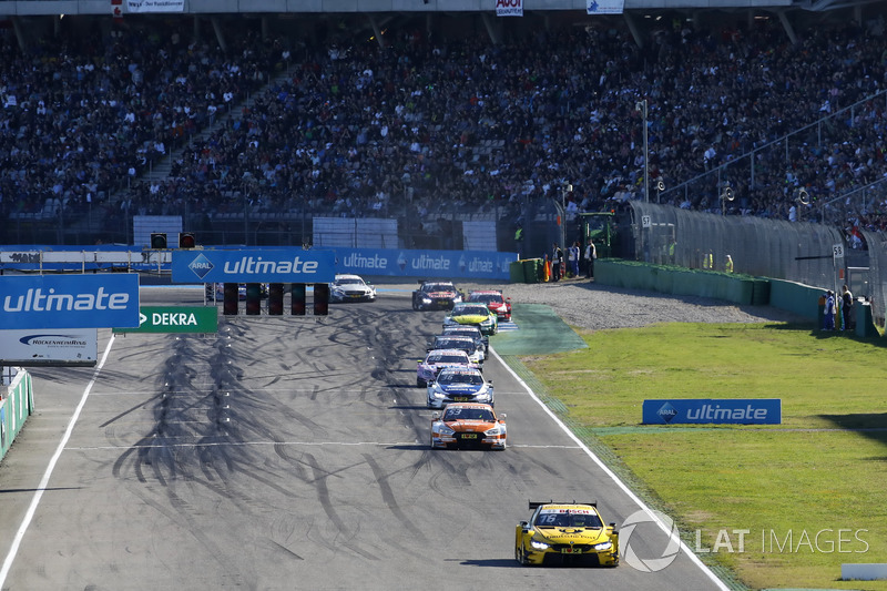 Тімо Глок, BMW Team RMG, BMW M4 DTM, лідирує