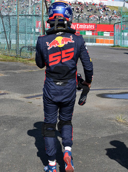 Race retiree Carlos Sainz Jr., Scuderia Toro Rosso