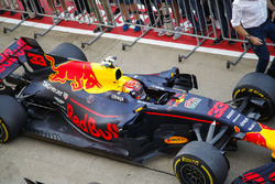 Max Verstappen, Red Bull Racing RB13, second place