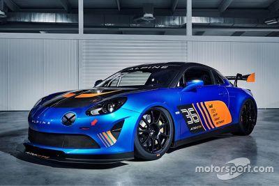 Presentazione Alpine A110 GT4