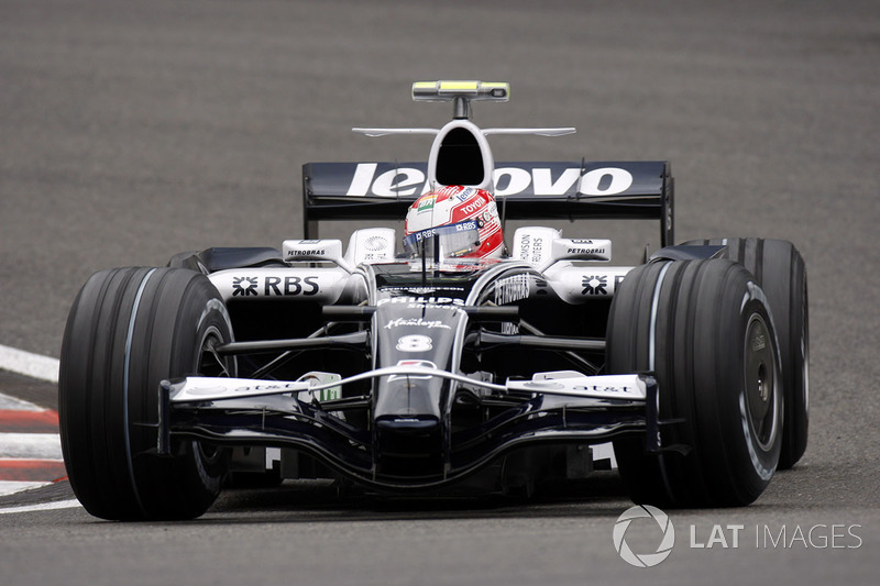 Kazuki Nakajima, Williams FW30