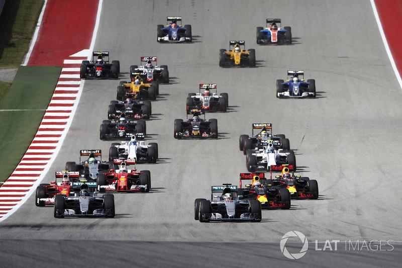 F1 Los horarios del GP de EE UU de F1