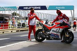 Andrea Dovizioso, Ducati Team bike