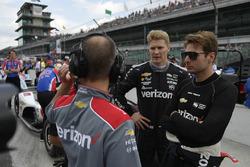 Josef Newgarden, Team Penske Chevrolet, Will Power, Team Penske Chevrolet