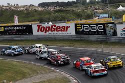 Stian Paulsen, Stian Paulsen Racing Cupra TCR, Jaap van Lagen, Leopard Lukoil Team Audi RS3 LMS TCR, Mikel Azcona, PCR Sport Cupra TCR, Attila Tassi, Hell Energy Racing con KCMG Honda Civic Type R TCR