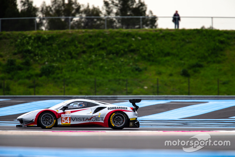 #54 Spirit of Race Ferrari F488 GTE: Thomas Flohr, Francesco Castellacci