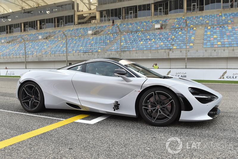 Pirelli pist turları McLaren'i