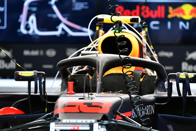 Halo de la Red Bull Racing RB14