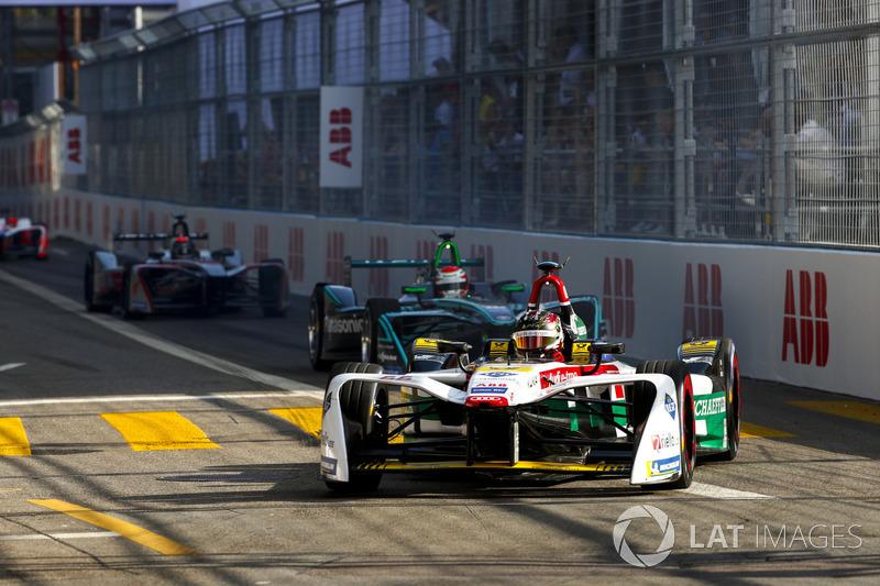 Daniel Abt, Audi Sport ABT Schaeffler, Nelson Piquet Jr., Jaguar Racing