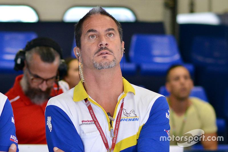 Piero Taramasso, Manager of the Two-Wheel Michelin Motorsport