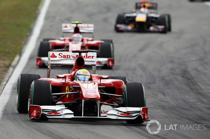 """2010: سيارة فيراري """"اف10"""" – 144 نقطة، المركز السادس في البطولة"""