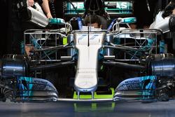 Valtteri Bottas, Mercedes-Benz F1 W08 aero sensörü
