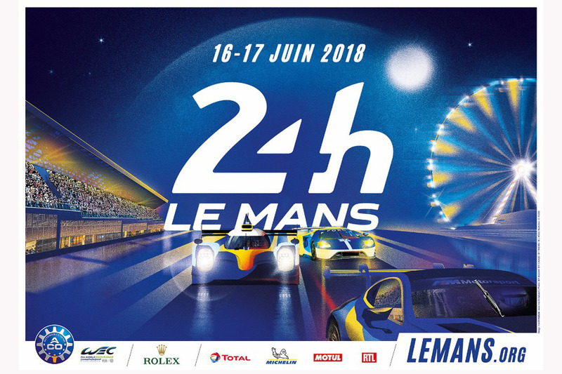 Poster de las 24 horas de Le Mans 2018