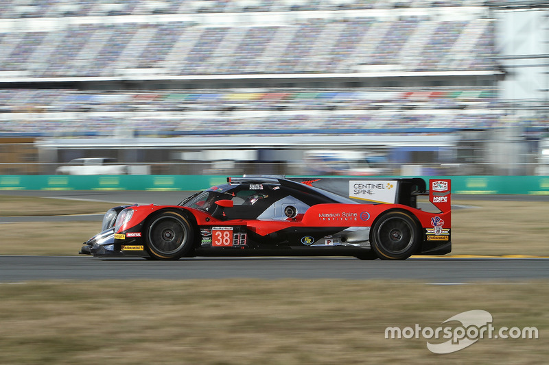 4.- #38 Performance Tech Motorsports ORECA LMP2, P: James French, Kyle Masson, Joel Miller, Pato O'Ward
