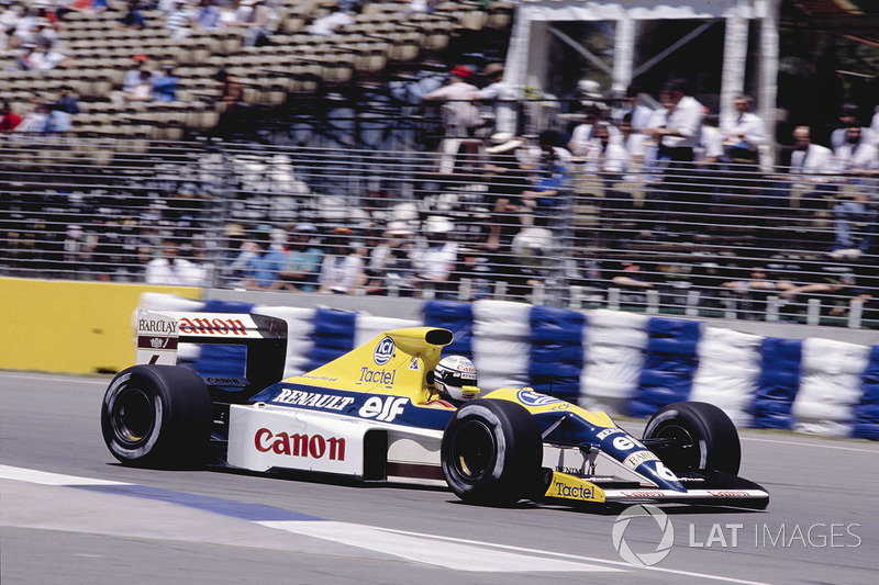 Riccardo Patrese, Williams FW13 Renault
