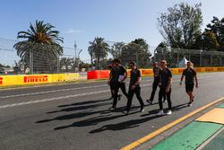 Circuitwandeling met Kevin Magnussen, Haas F1 Team