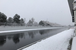 Winter at the track
