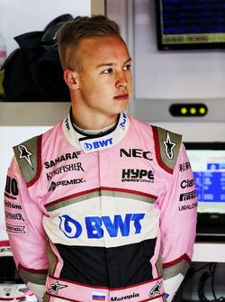 Nikita Mazepin, Sahara Force India F1
