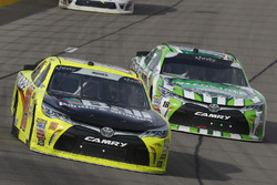 Brandon Jones, Joe Gibbs Racing, Toyota Camry Menards, Kyle Busch, Joe Gibbs Racing, Toyota Camry Interstate Batteries