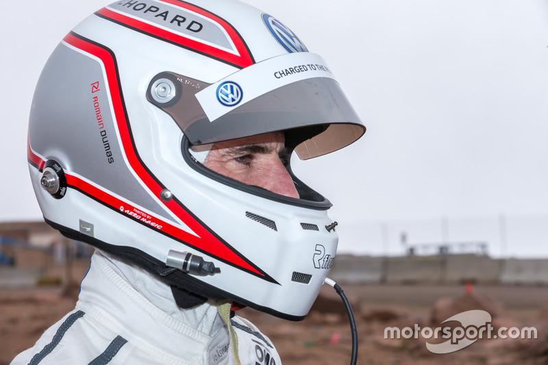 Il vincitore #94 Romain Dumas, Volkswagen I.D. R Pikes Peak