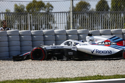 Lance Stroll, Williams Racing, na uitstap grindbak