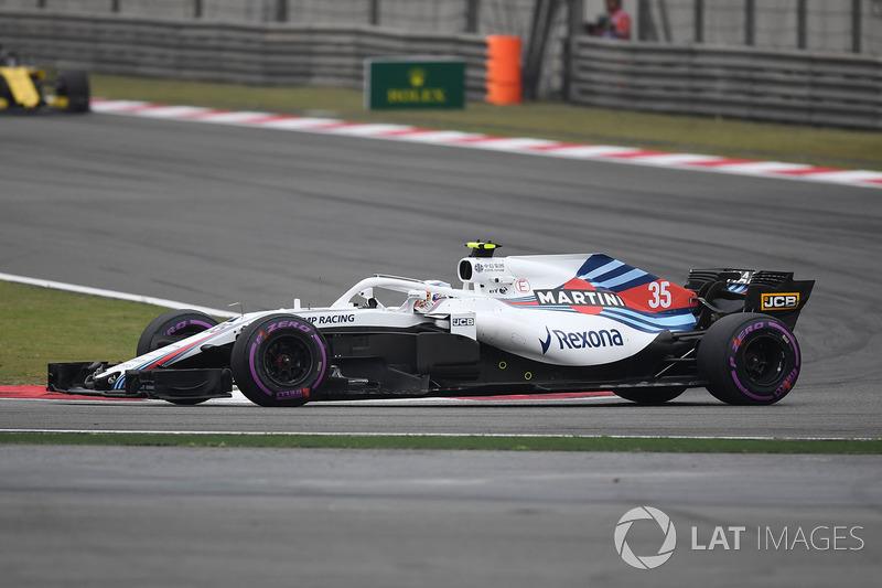 16. Sergey Sirotkin, Williams FW41