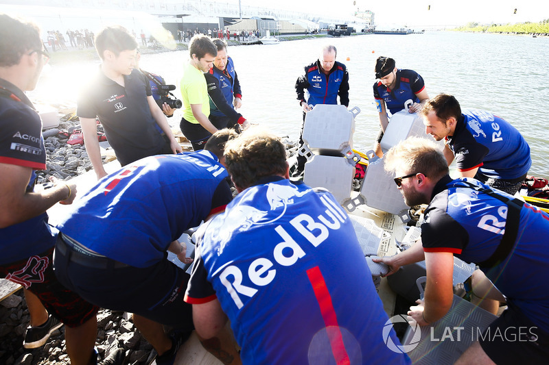 The Toro Rosso Raft Race Team