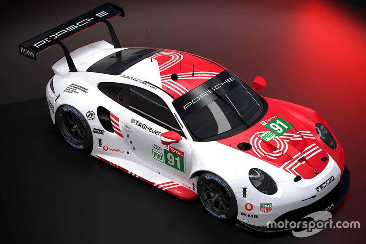 Porsche Le Mans Virtual livery