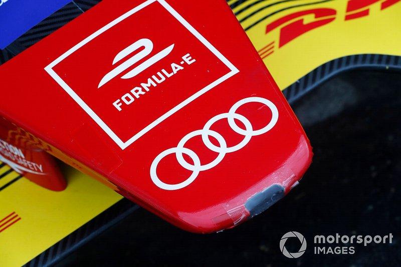 Alerón delantero de Audi Sport ABT Schaeffler, Audi e-tron FE05
