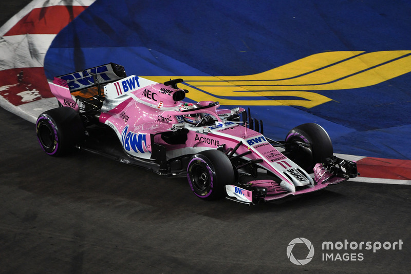 Perez expresses his frustration over being held back by Sirotkin