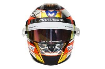 Jules Bianchi helmet