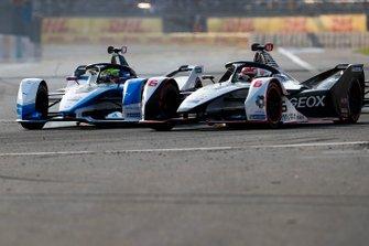 Felipe Nasr, Dragon Racing, Penske EV-3 battles with Alexander Sims, BMW I Andretti Motorsports, BMW iFE.18