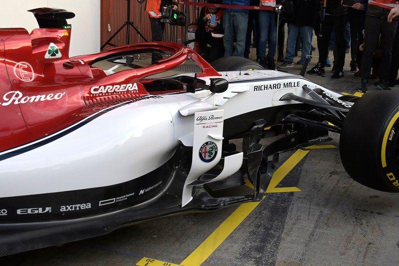 Detalle Alfa Romeo Racing C38