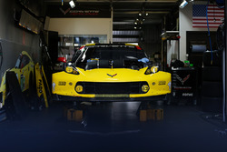 Le stand Corvette Racing
