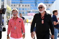 Eddie Jordan, Channel 4 F1 TV et Flavio Briatore