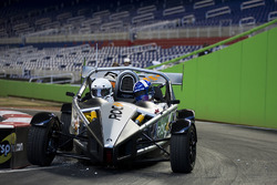 David Coulthard driving the Ariel Atom Cup