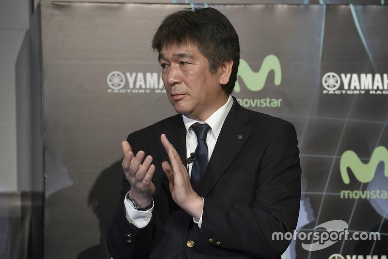 Kouichi Tsuji, Gerente de General División de Desarrollo de Motorsport, Yamaha Motors