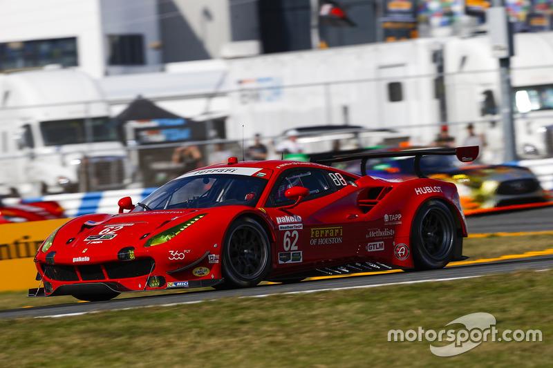 #62 Risi Competizione Ferrari 488 GTE: Toni Vilander, Giancarlo Fisichella, James Calado