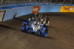 Simon Pagenaud, Team Penske Chevrolet leads Will Power, Team Penske Chevrolet