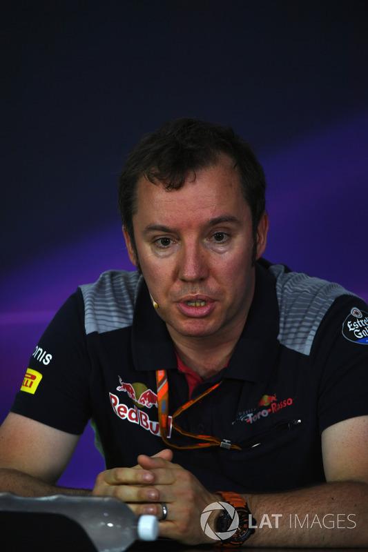 Джоди Эггингтон, Scuderia Toro Rosso