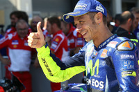 Il terzo classificato Valentino Rossi, Yamaha Factory Racing