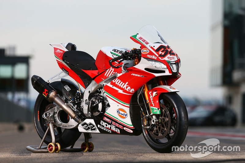 Bike von Julian Simon, Milwaukee Aprilia World Superbike Team