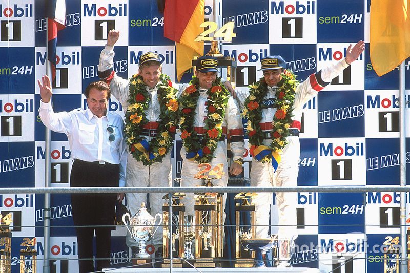 1997: Michele Alboreto, Stefan Johansson, Tom Kristensen