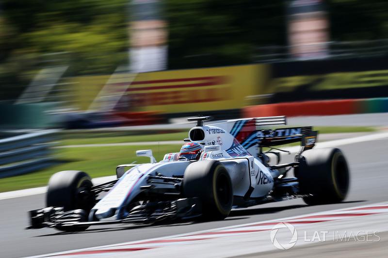 2017: Пол ди Реста вместо Фелипе Массы (Williams, Гран При Венгрии)