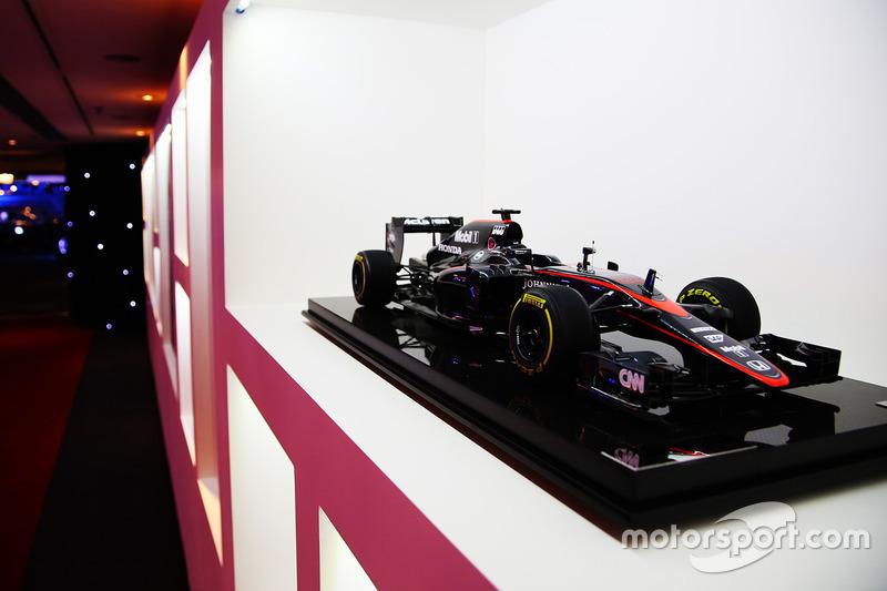 McLaren model car