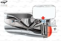 McLaren MP4/28 rear suspension design, third view
